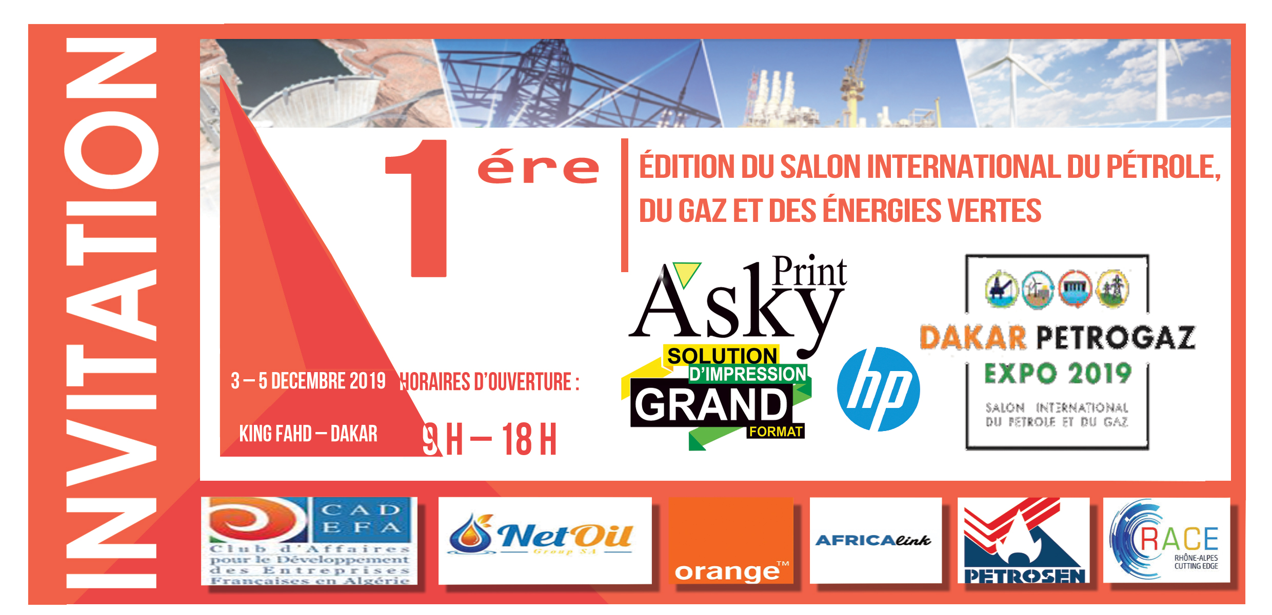 Salon international du pétrole, du gaz et des énergies vertes, DAKAR PETROGAZ 2019