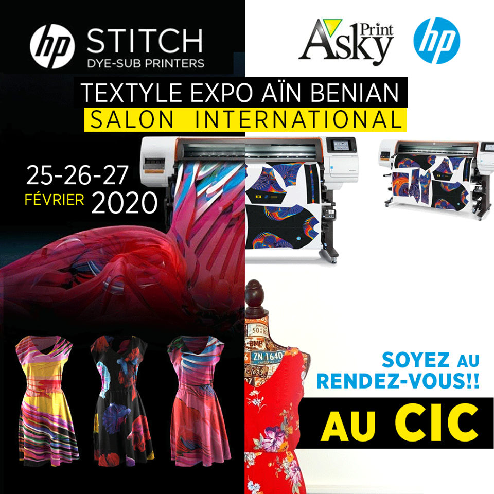 Salon international TEXTILE EXPO Alger 2020